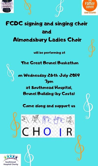 BSL Choir Wednesday 26th June